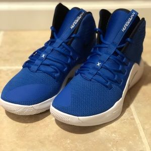 Nike Hyperdunk X TB Blue White Basketball Shoes